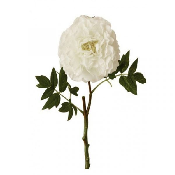 Peonia Blanca 40cm